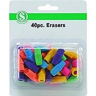 Do it Best GS 10186 Cap Erasers - Smart Savers-40PK ERASERS