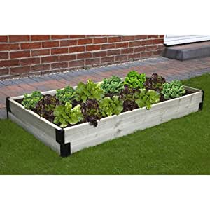 bosmere n426 raised bed connection kit raised garden bed patio lawn garden