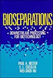 img - for Bioseparations: Downstream Processing for Biotechnology by Paul A. Belter (1988-02-08) book / textbook / text book