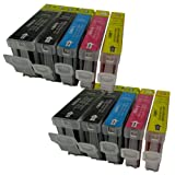10 CiberDirect Compatible Ink Cartridges for use with Canon Pixma iP4200 Printers.