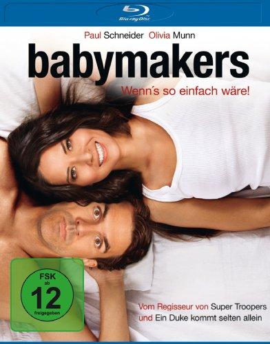 Babymakers - Wenn's so einfach wäre! [Blu-ray]