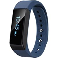 EFOSHM Wireless Activity and Sleep Monitor Smart Fitness Tracker Wristband Watch (Blue)