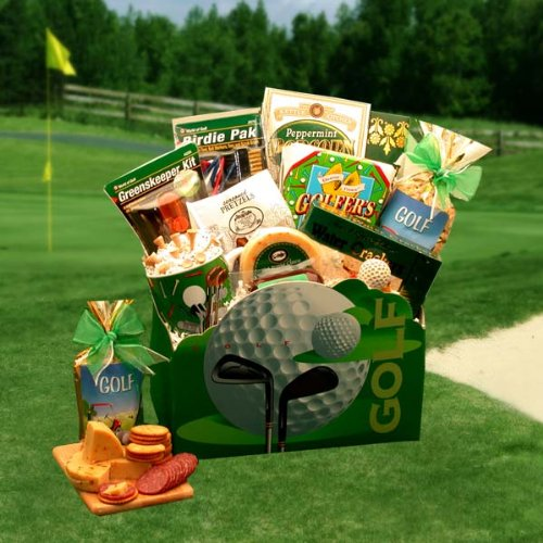 Attention Golf Lovers! Fun Golfing Gourmet Gift Box -Medium