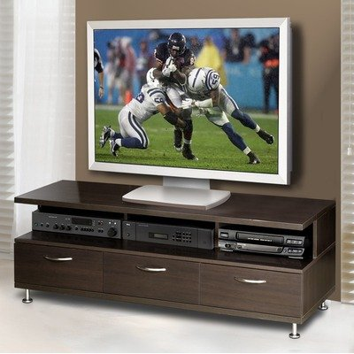 Cheap Eclipse 57″ TV Stand Without Support Panel in Espresso (450404 / 450409)