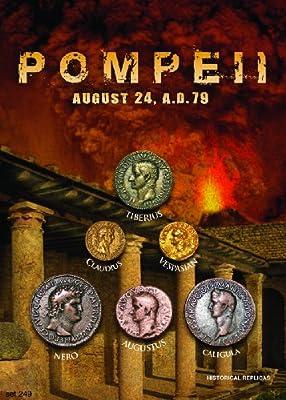 (DM 249) Pompeii - August 24, 73 A.D. 5X7