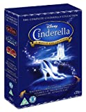 Cinderella Trilogy Blu-ray Set (Cinderella / Cinderella II: Dreams Come True & Cinderella III: A Twist In Time)