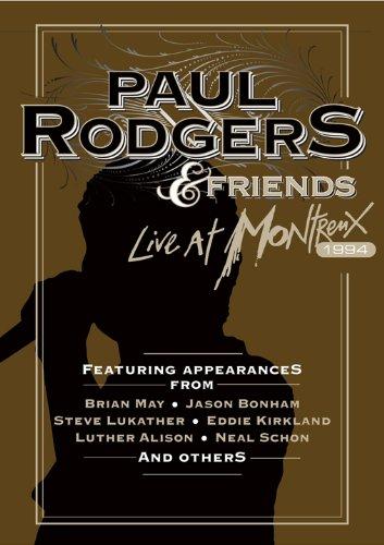 Paul Rodgers & Friends - Live At Montreux 1994 [2011, Rock | Blues-Rock, DVD9]