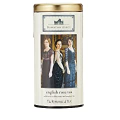 Republic of Tea Downton Abbey English Rose Tea, 36 Tea Bags