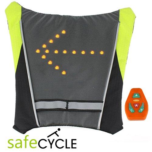 Safe Cycle Led Wireless Turn Signal Bike Vest