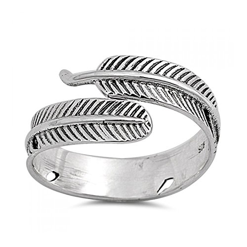 Anello Feather Sterling Silver