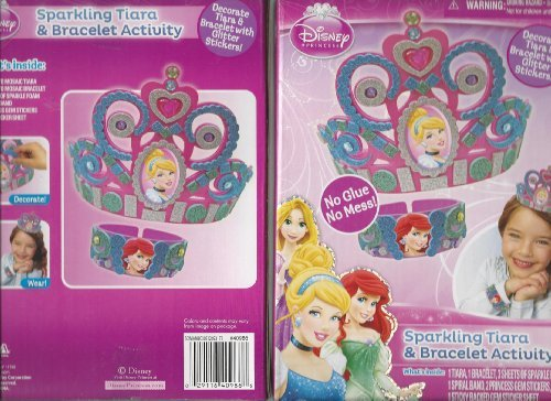 Sparkling Tiara & Bracelet Activity Disney Princess
