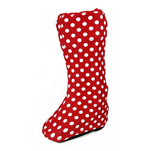 CastCoverz! Bootz! Boot Cover in Going Dotty - Medium High Top (Zebra High Tops compare prices)
