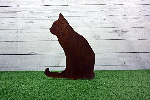 silueta-del-gato-acero-corten-sentado-jardin