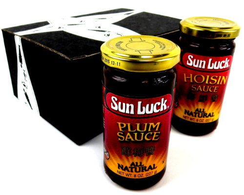 Sun Luck Sauce Variety: One 8 oz Bottle Each