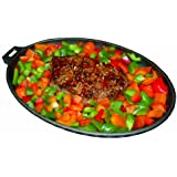 Napoleon 56003 Elite-Professional Cast Iron Skillet with Bakelite Serving Tray