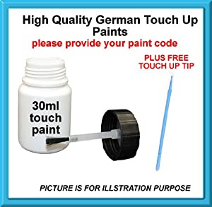 Renault High Quality German Car Touch Up Paint 30Ml 205.171 Cc Gris Brancard Nacre Mat From 01 - 04 by MACPACARPARTS