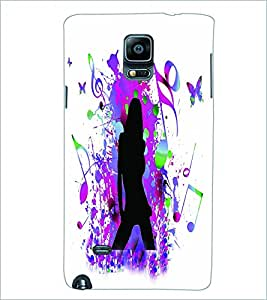PRINTSWAG MUSIC GIRL Designer Back Cover Case for SAMSUNG GALAXY NOTE EDGE