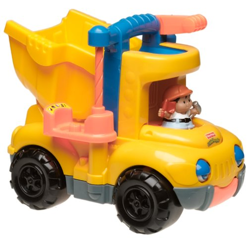 toys cheap prices fisher price tuffy the dump truck. Black Bedroom Furniture Sets. Home Design Ideas