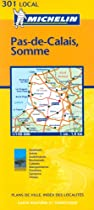 Pas-de-Calais/Somme (Michelin Local Maps)