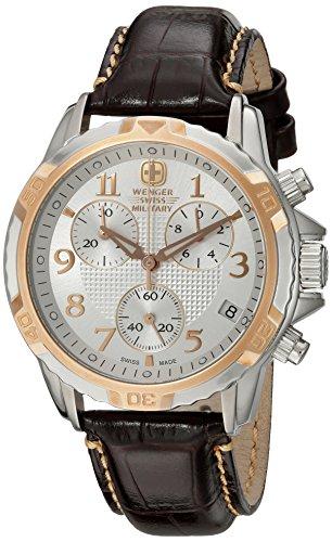 Wenger-Mens-79131-Analog-Display-Analog-Quartz-Brown-Watch
