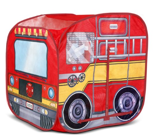 Playhut Mini Fire Vehicle Tents