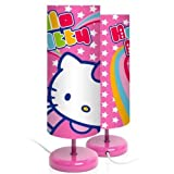 Hello Kitty cylindrical Bedside lamp