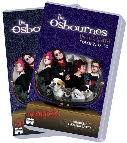 Die Osbournes - Die erste Staffel [VHS]