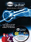 Disney Learn To Play Guitar  With The Songs Of High School Musical & Hannah Montana DVD-ROM