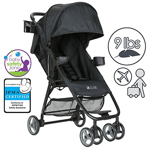 ZOE-XL1-Lightweight-Umbrella-Stroller-System-Black