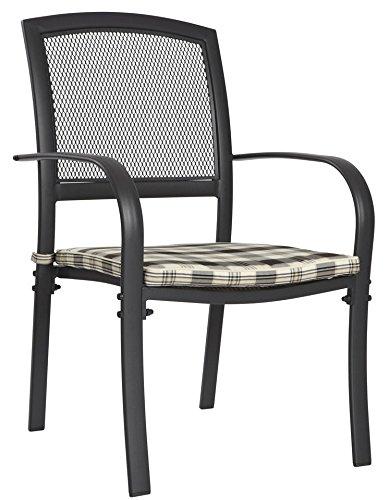 baumarkt direkt Gartensessel »Montreal (2 Stück)« 2 Stühle, schwarz günstig kaufen