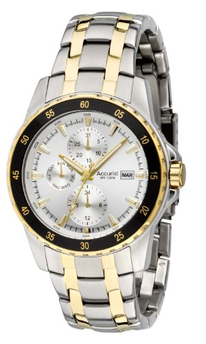 Accurist Men's Two Tone Multidial Watch MB938