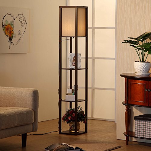 Brightech Tr Led Floor Lamp With 3 Orb Shaped Adjustable Heads Energy Saving 9 Watts Total