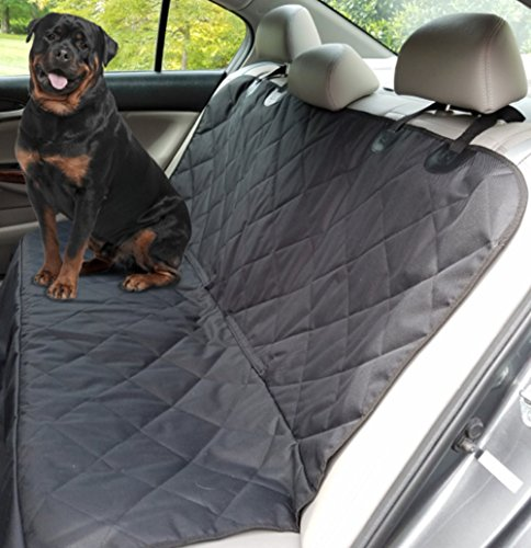 Pet Seat Cover for Dogs Deluxe Heavy Duty Quilted Waterproof Non Slip Hammock Option Machine Washable for Cars Trucks SUV's (Ford F150 Carpet compare prices)