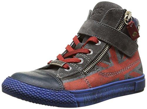 Ikks - Anthony, Sneakers per bambini e ragazzi, Blu (Bleu (Ctv Marine/Gris Dpf/Tavolo)), 31