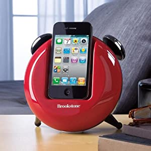 Brookstone iDesign Retro Dock for iPod and iPhone Devices (Black)