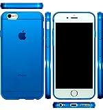 iPhone 6 Plus 5'5 iphone6 plus 5.5 インチ 衝撃吸収 ケース カバー全9色【 iPhone6 プラス 対応 】 iPhone6Plus mtmd decolor tpuハードシリコン ケース (ブルー)