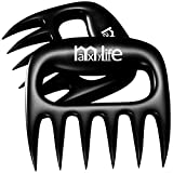 LauKingdom BBQ Meat Claws, Barbecue Meat Handling Shredder Claws, Black