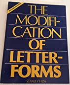 THE MODIFICATION OF LETTER-FORMS, REVISED…