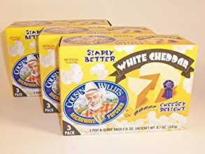 Cousin Willie39s Simply Better White Cheddar Microwave Popcorn 3 Boxes