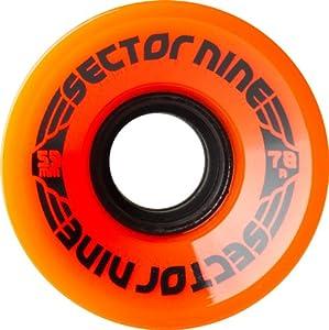 Buy Sector 9 Nine Balls Skateboard Wheel, Orange, 59mm 78A by Sector 9