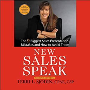 New Sales Speak Audiobook