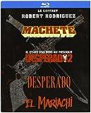 Robert Rodriguez - Coffret - Machette + El Mariachi + Desperado + Desperado 2 [Blu-ray]