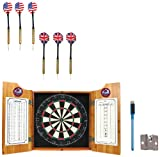 NHL Colorado Avalanche dart cabinet includes Darts and Board at Amazon.com