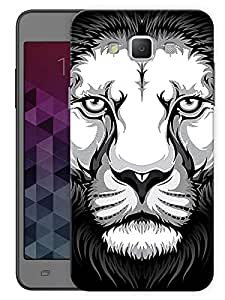 "Humor Gang Lion Obsession Printed Designer Mobile Back Cover For ""Samsung Galaxy Grand 3"" (3D, Matte, Premium Quality Snap On Case)"
