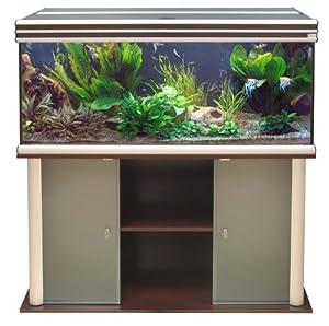 Aquatlantis Aquarium + Meuble Evasion 120 X 50 Wenge