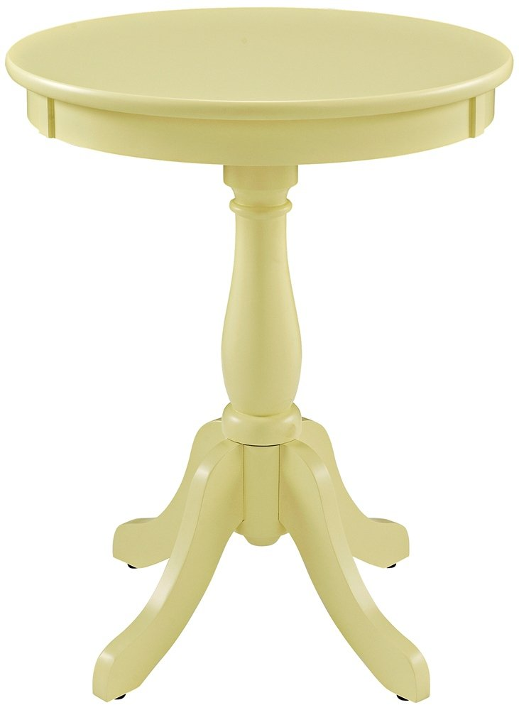 Powell Furniture Round Buttercup Table, Yellow time relay h5cn xbn z