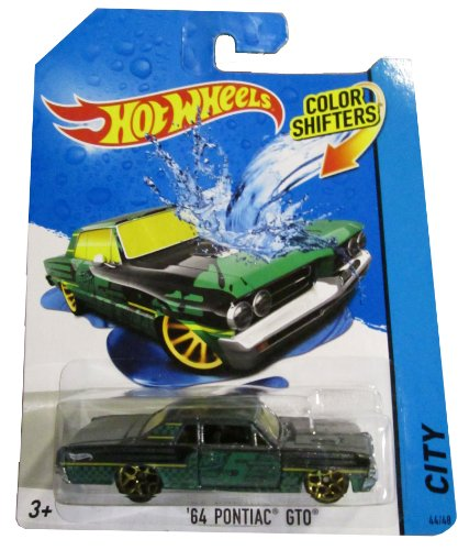 Hot Wheels City 2014 Color Shifters '64 Pontiac Gto 44/48