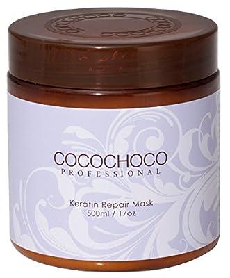 COCOCHOCO professional Keratin Repair Mask 17 Fl Oz / 500ml