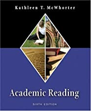 Academic Reading College Major and Career Applications MyReadingLab Student by Kathleen T. McWhorter