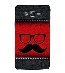 printtech Abstract Leather Pattern Back Case Cover for Samsung Galaxy J5 / Samsung Galaxy J5 J500F